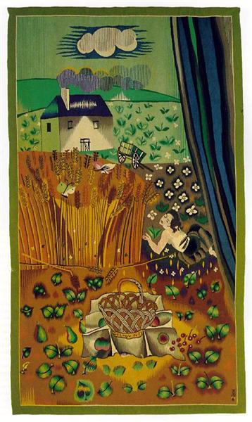 Aubusson tapestry, 1941 - Raoul Dufy