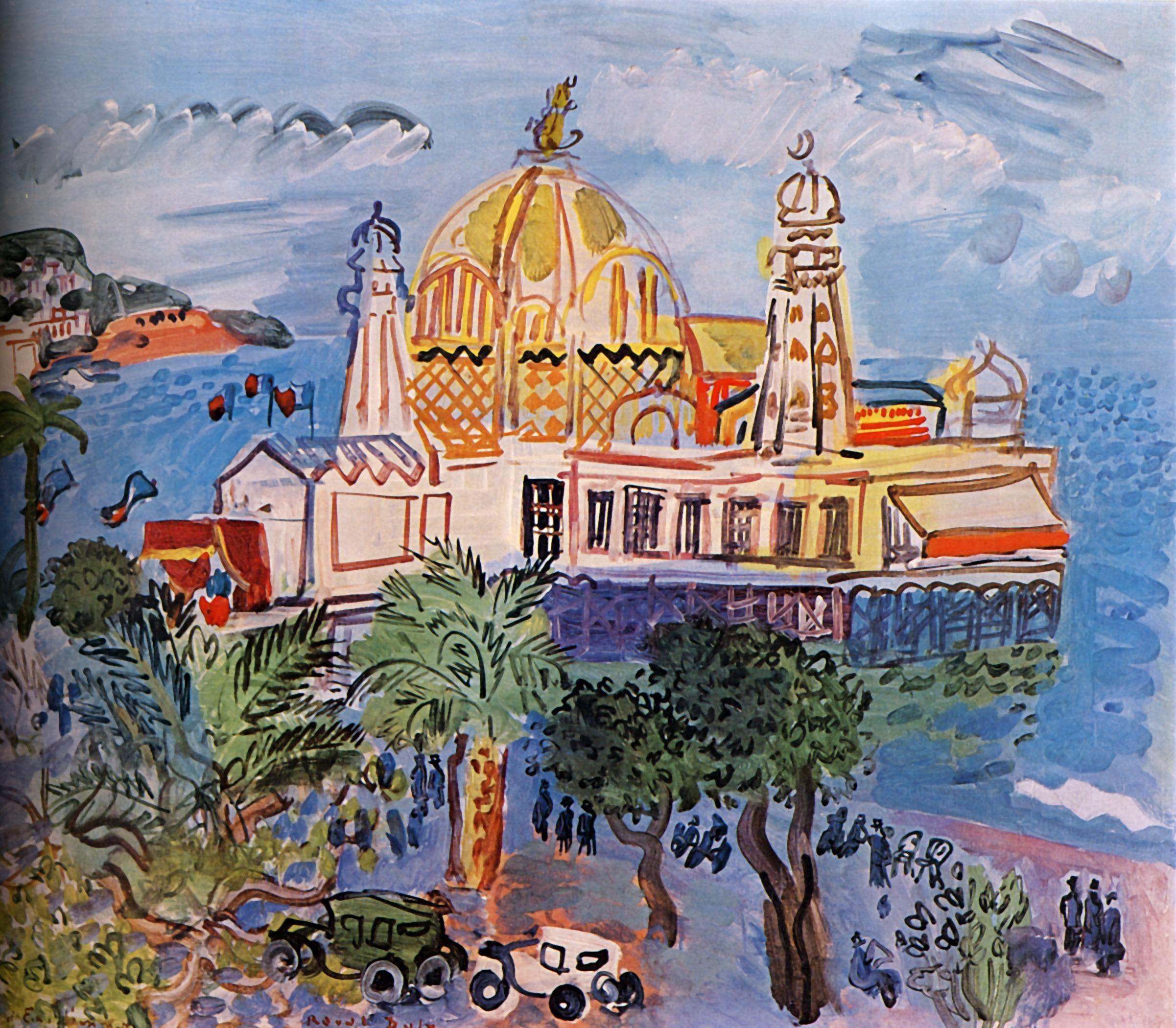the casino of nice raoul dufy