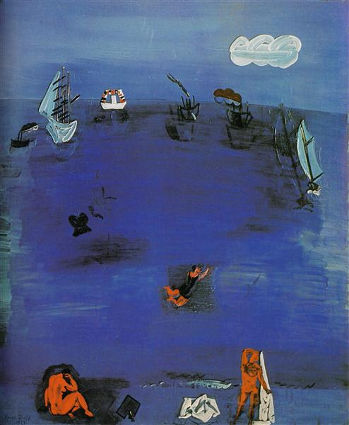 The Mediterranean, 1923 - Raoul Dufy