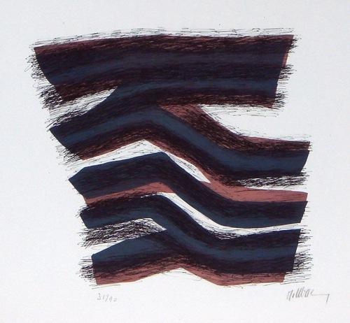 Rythme rose et gris endormi, 1972 - Raoul Ubac