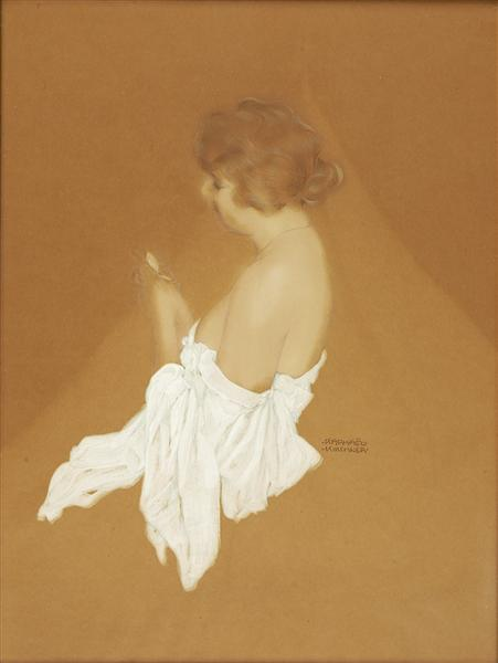 Fanny Brice, 1916 - Raphael Kirchner
