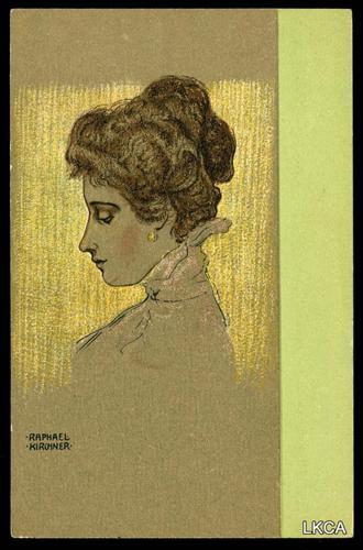 Portraits of Viennese Ladies - Raphael Kirchner