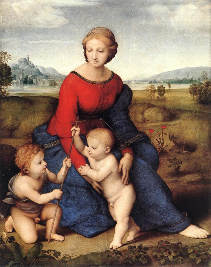 Madonna in the Meadow, 1505-1506