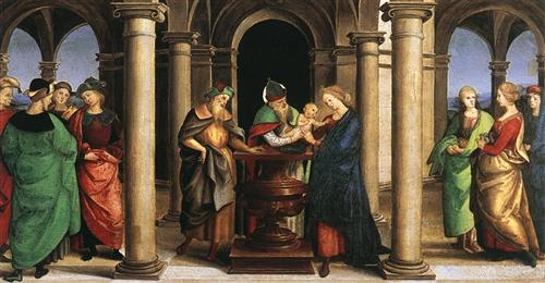 The Presentation in the Temple - Raphael