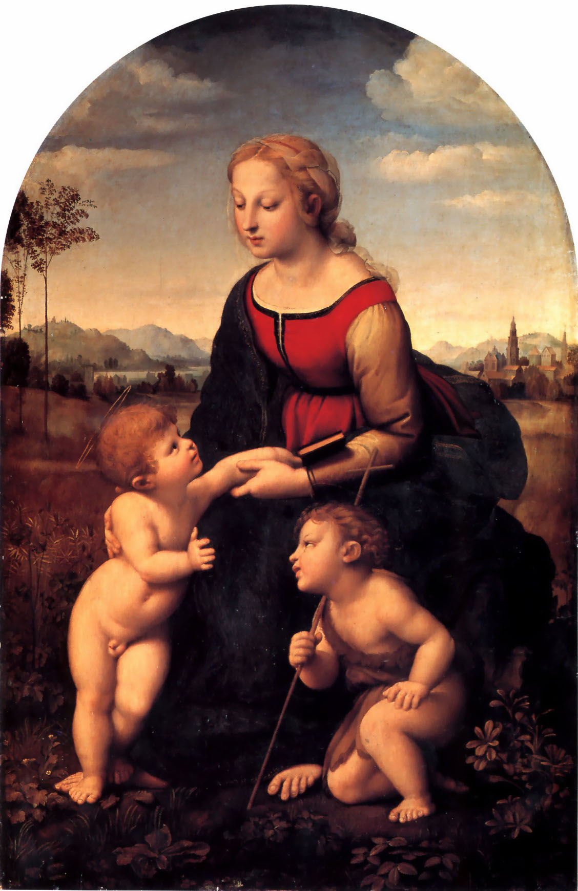 The Virgin and Child with Saint John the Baptist, 1507