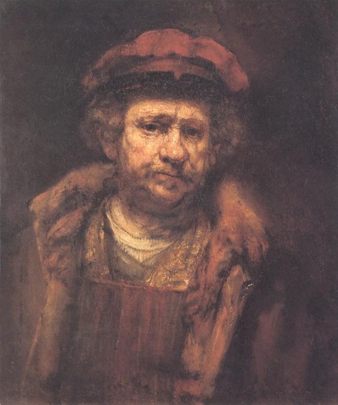 Self-portrait - Rembrandt - WikiArt.org