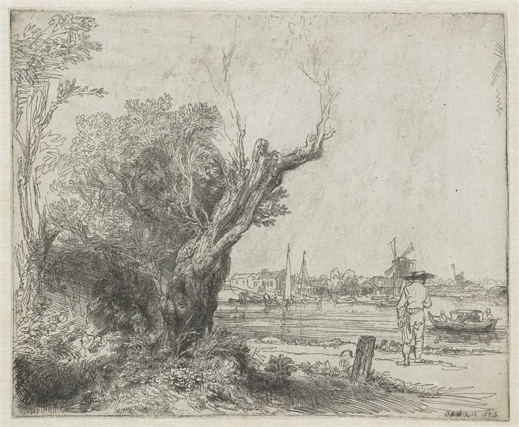 The Omval, 1645 - Rembrandt