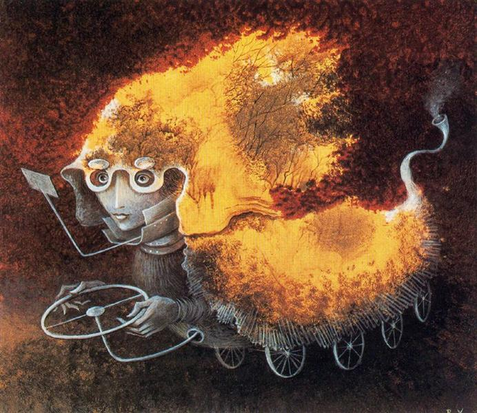 As the Volante, 1962 - Remedios Varo Uranga
