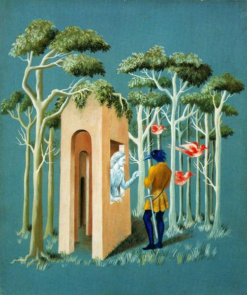 Garden of love, 1951 - Remedios Varo