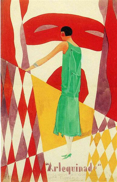 "Advertisment for ""Norine"", c.1925 - Rene Magritte"