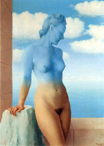 Black Magic, 1945 - Rene Magritte