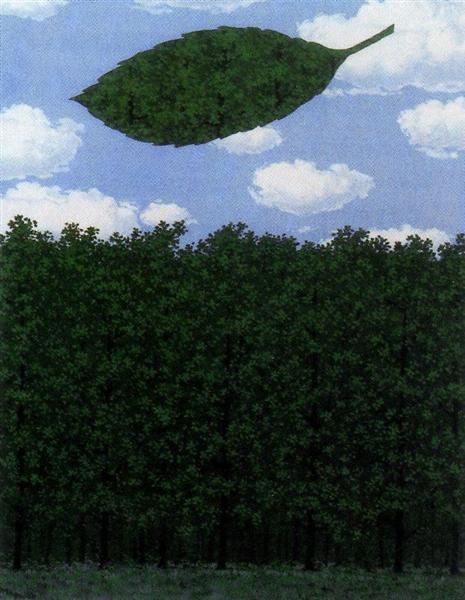 Chorus of the sphinx, 1964 - Rene Magritte