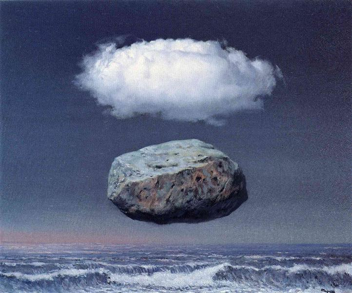Clear ideas, 1958 - Rene Magritte