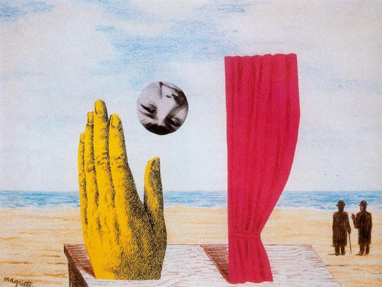 Collage, 1966 - Rene Magritte - WikiArt.org