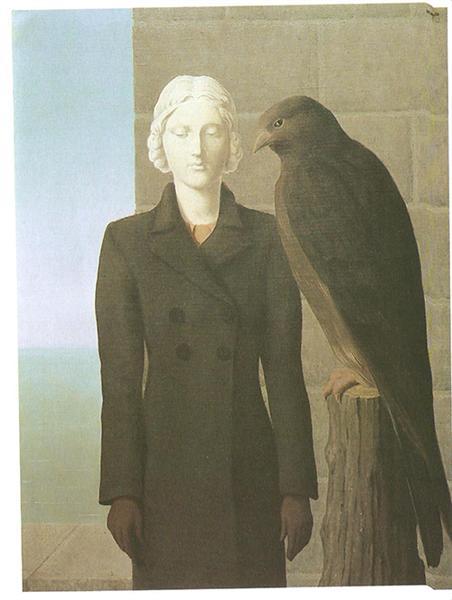 Deep waters, 1941 - Rene Magritte