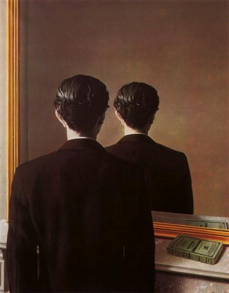 Not to be reproduced, 1937 - Rene Magritte