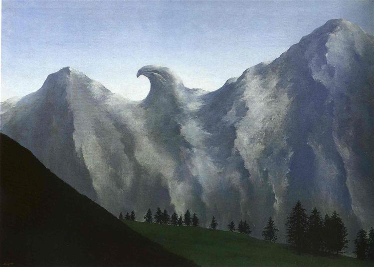 The domain of Arnheim, 1938 - Rene Magritte