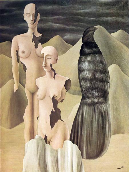 Polar light, 1926 - René Magritte