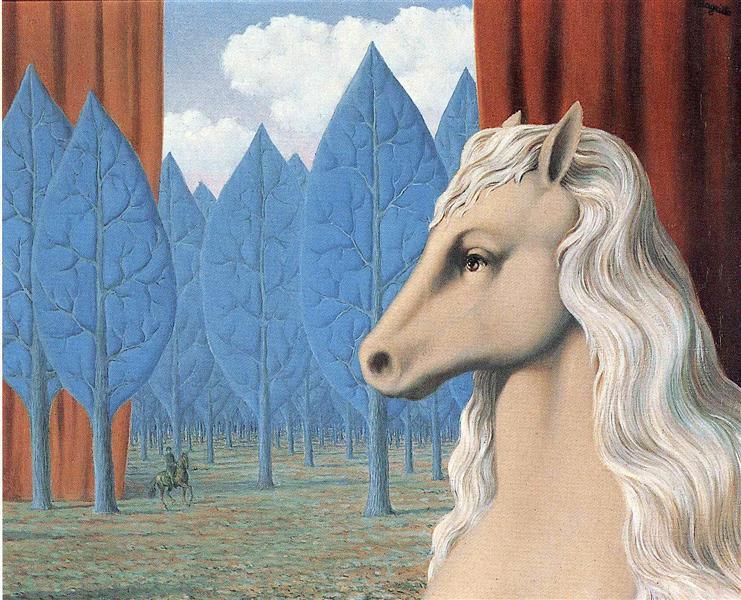 Pure reason, 1948 - René Magritte