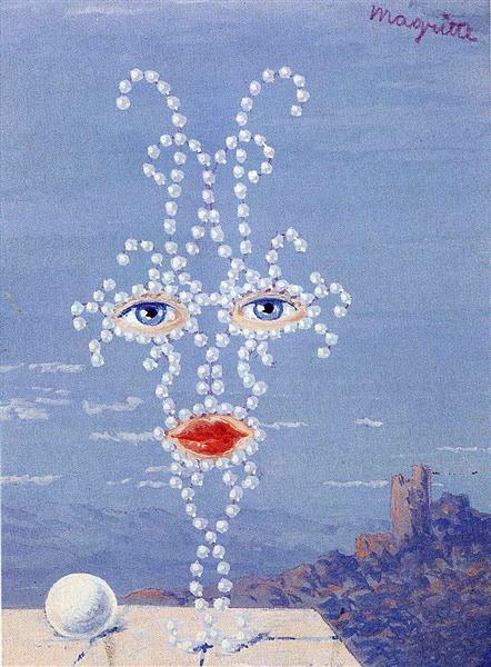 Sheherazade, 1950 - Rene Magritte