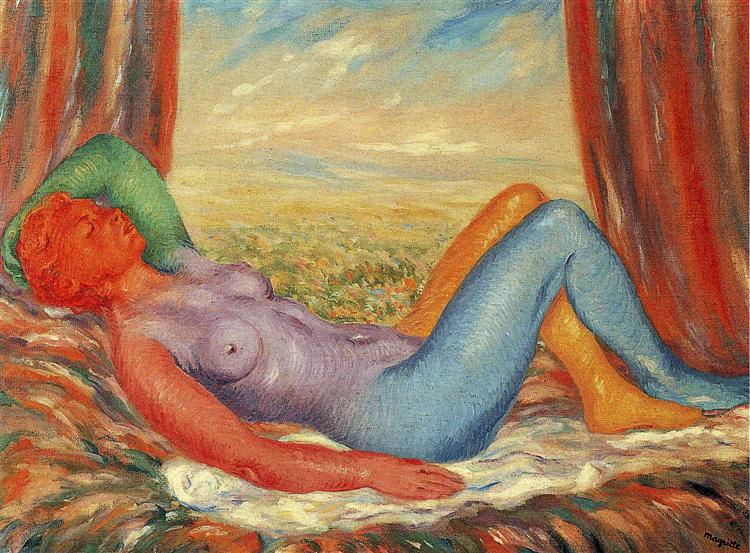 The harvest, 1943 - Rene Magritte