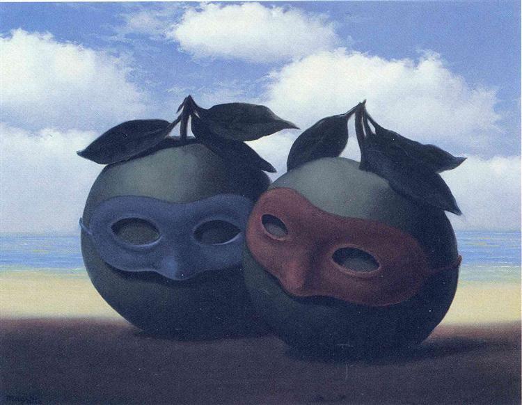 The hesitation waltz, 1950 - René Magritte