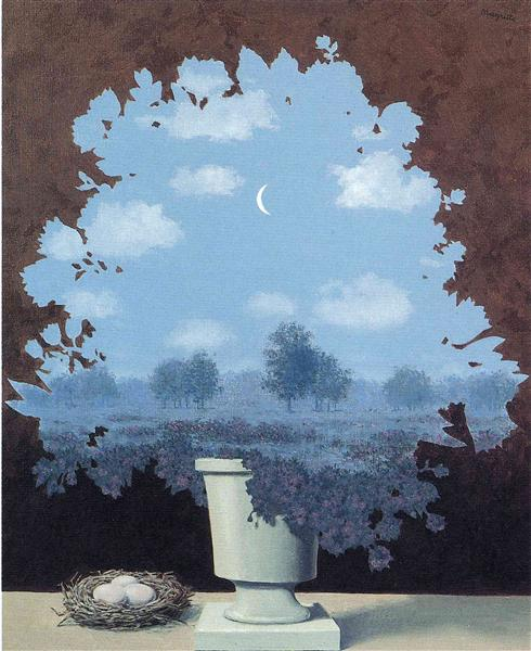 The land of miracles, 1964 - Rene Magritte