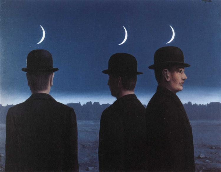 The masterpiece or the mysteries of the horizon, 1955 - Rene Magritte -  WikiArt.org