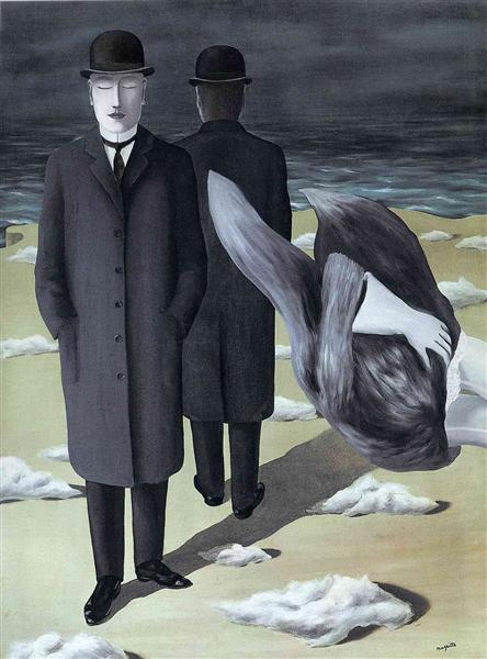 The meaning of night, 1927 - Rene Magritte