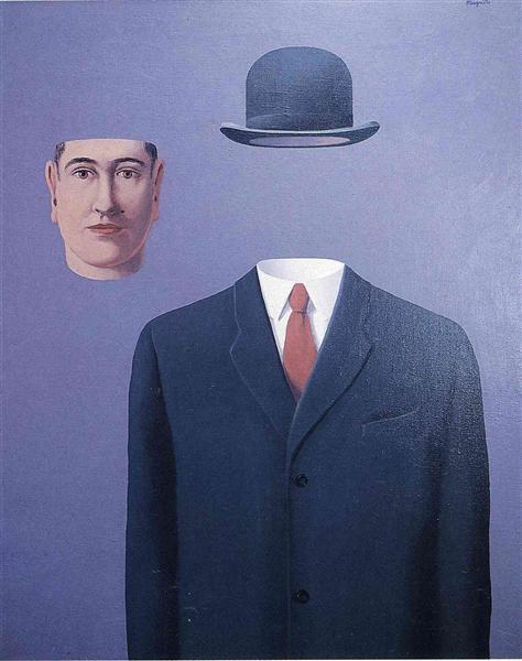 The Pilgrim, 1966 - Rene Magritte
