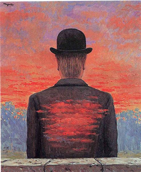 The poet recompensed, 1956 - Rene Magritte