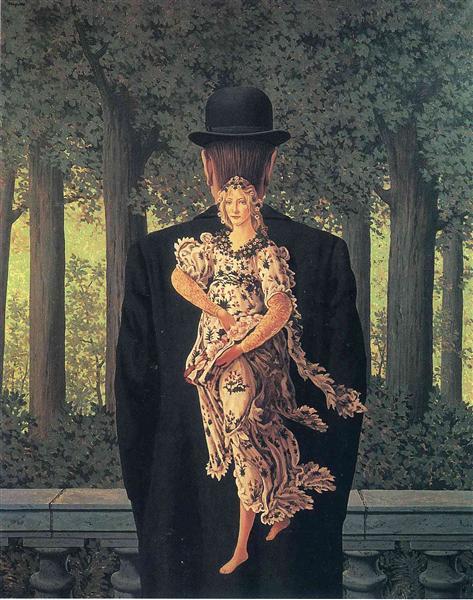 The Prepared Bouquet, 1957 - René Magritte