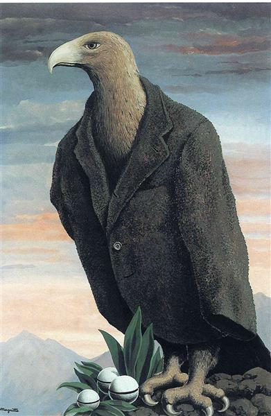The present, 1939 - Rene Magritte