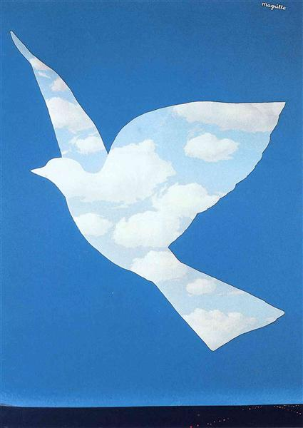 The promise, 1966 - Rene Magritte