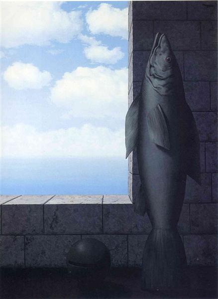 The search for truth, 1963 - Rene Magritte