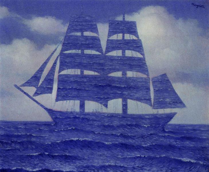 The seducer, 1953 - Rene Magritte