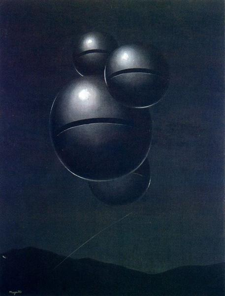 The voice of space, 1928 - Rene Magritte