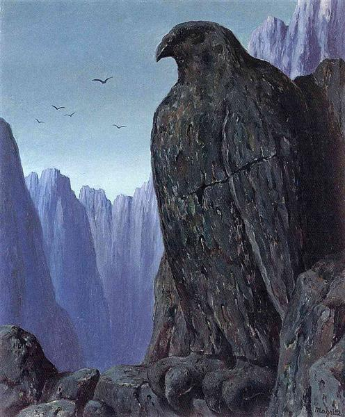 The wasted footsteps, 1950 - Rene Magritte