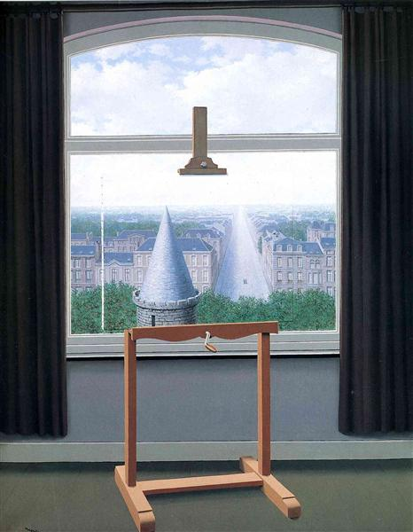 Where Euclide walked, 1955 - Rene Magritte