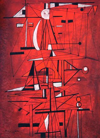 Composition, 1952 - Rene Portocarrero