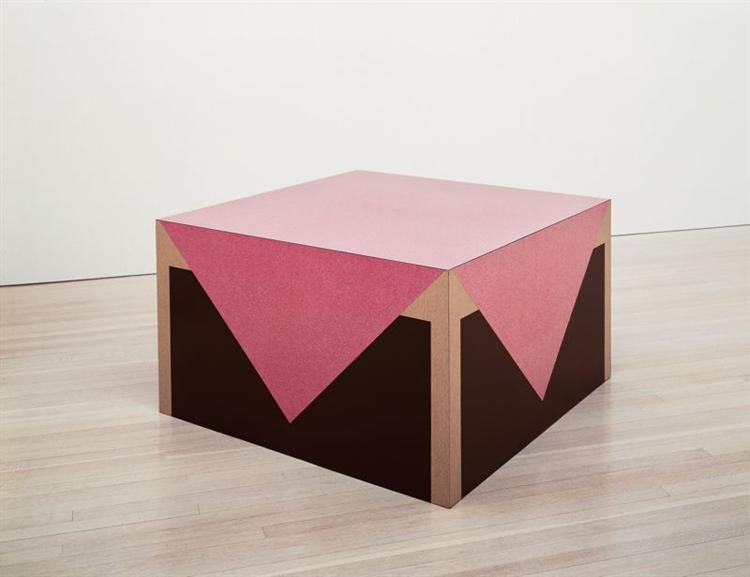 Table with Pink Tablecloth, 1964 - Richard Artschwager