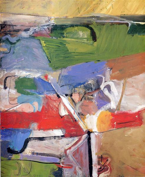 Berkeley No. 23, 1955 - Richard Diebenkorn