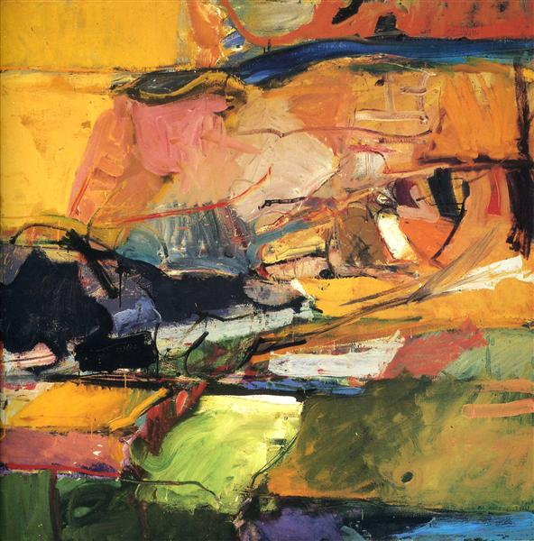Berkeley No. 57 - Richard Diebenkorn