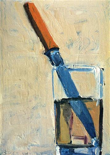 Knife and Glass - Richard Diebenkorn