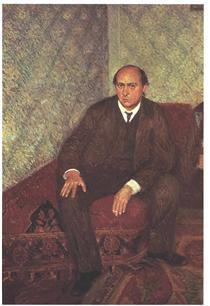 Portrait of Arnold Schonberg - Richard Gerstl