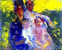 La familia Schönberg - Richard Gerstl