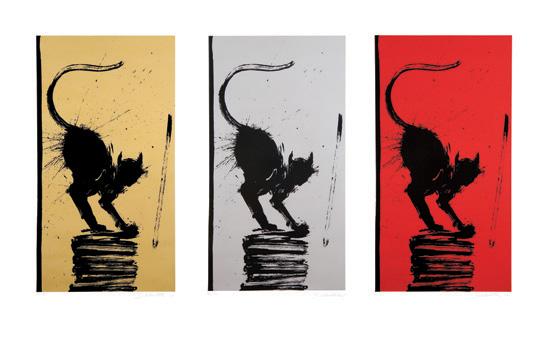 Cat Stack - Richard Hambleton