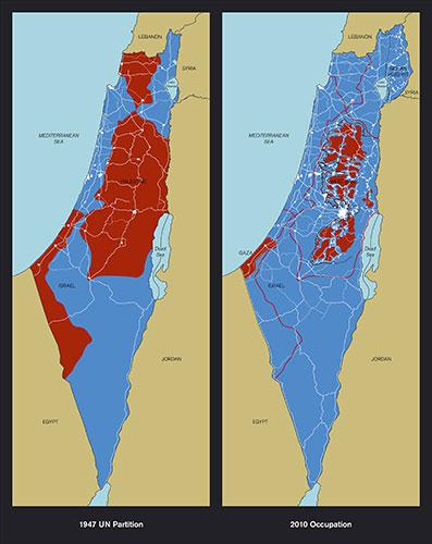 Maps of Palestine - Richard Hamilton