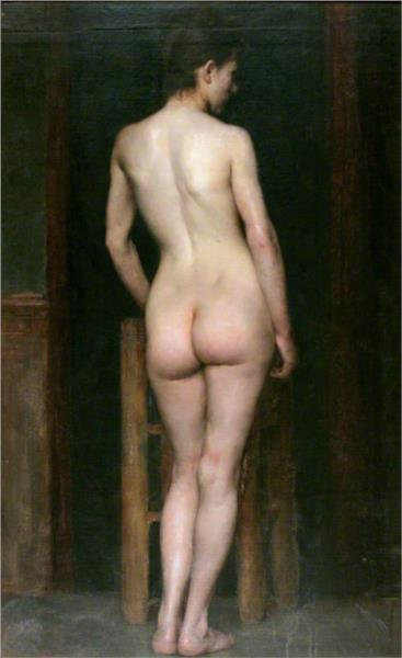 Female Nude - Річард Джек