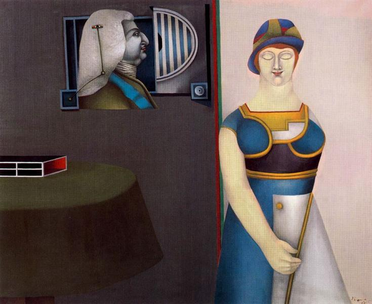 Couple - Richard Lindner